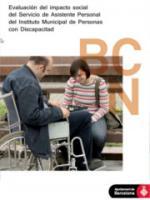 Evaluación del impacto social del Servicio de Asistente Personal del Instituto Municipal de Personas con Discapacidad
