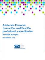 Asistencia Personal: formación, cualificación profesional y acreditación